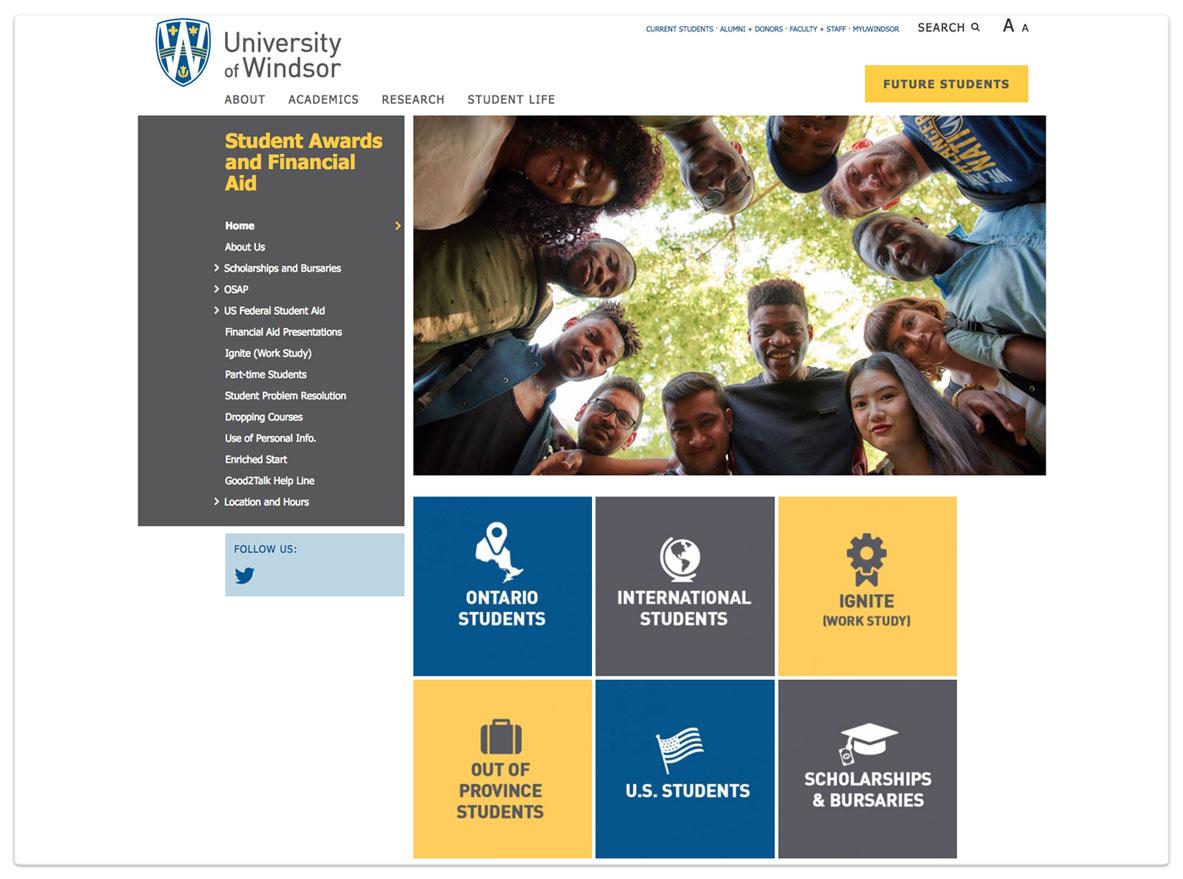 Uwindsor Campus Map.Bradd Bezaire Graphic Web And User Interface Designer Winnipeg